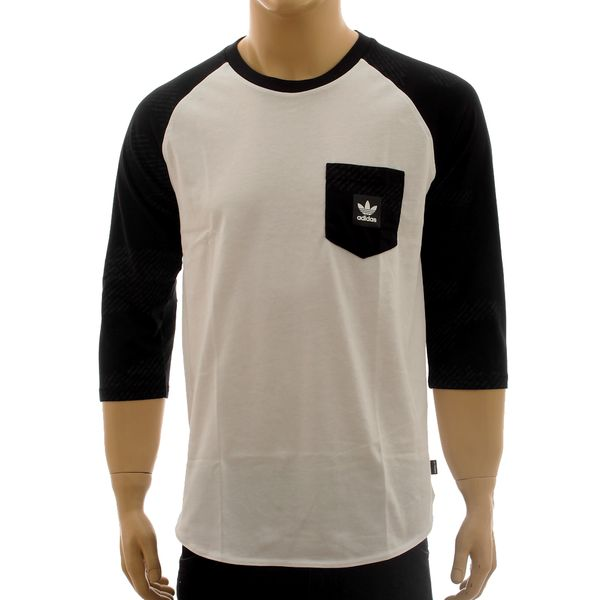 Camiseta Adidas Word Camo Raglan 3/4 (P)