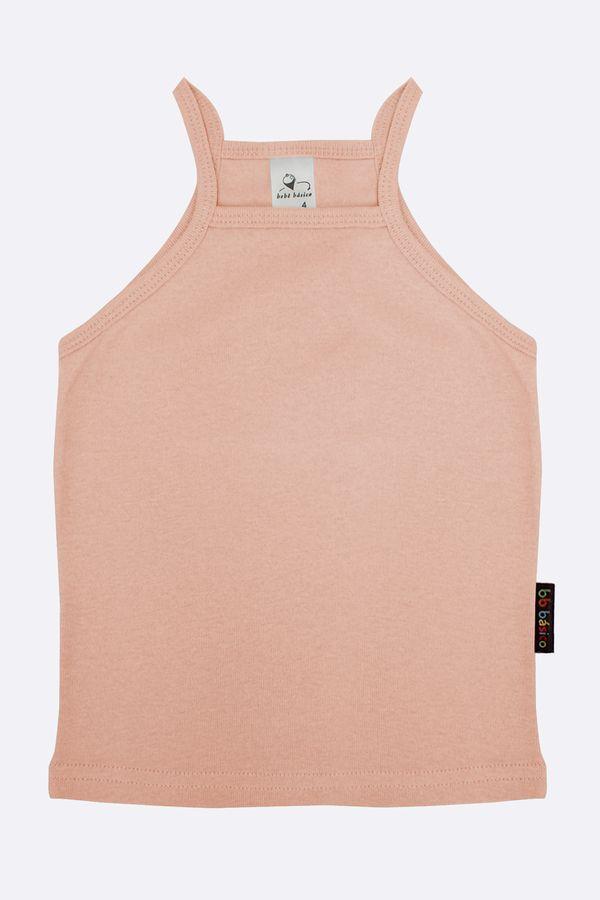 Camiseta Alcinha Ribana 02 - Rosa Claro