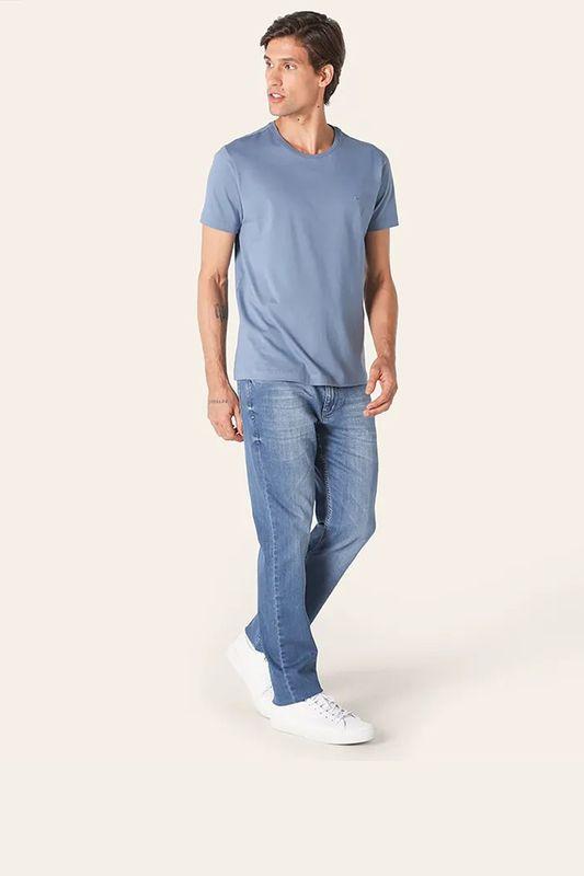 Camiseta Aramis Basica Azul Jeans Tam. M