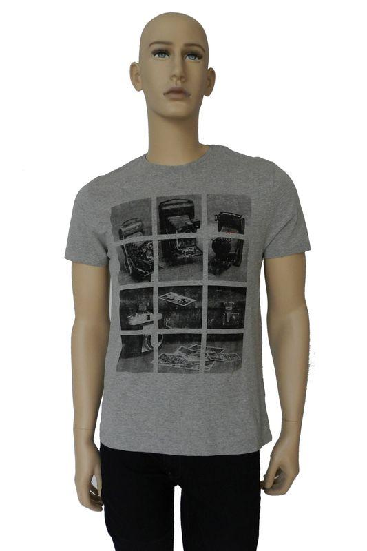 Camiseta Aramis Photograph Cinza Tam. G