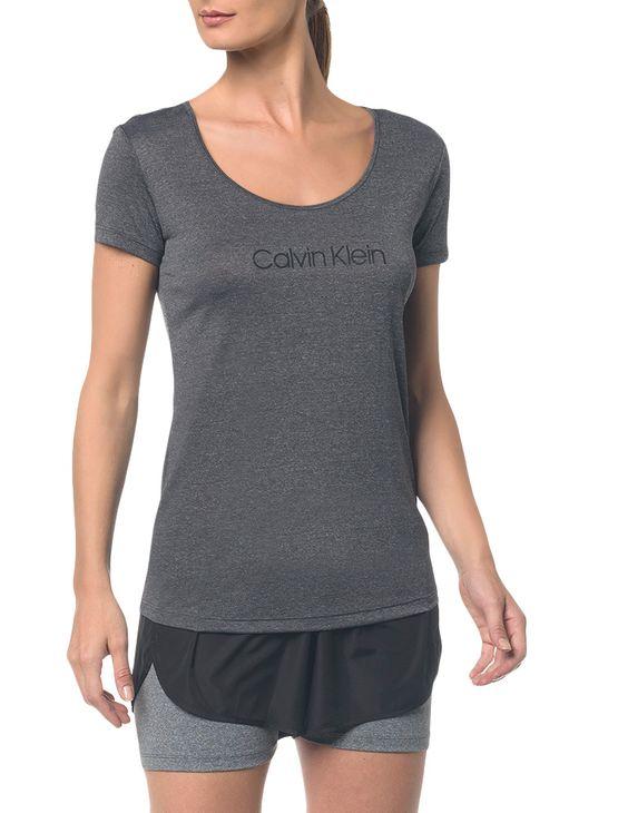 Camiseta Athletic Ck Logo Peito - Mescla - PP