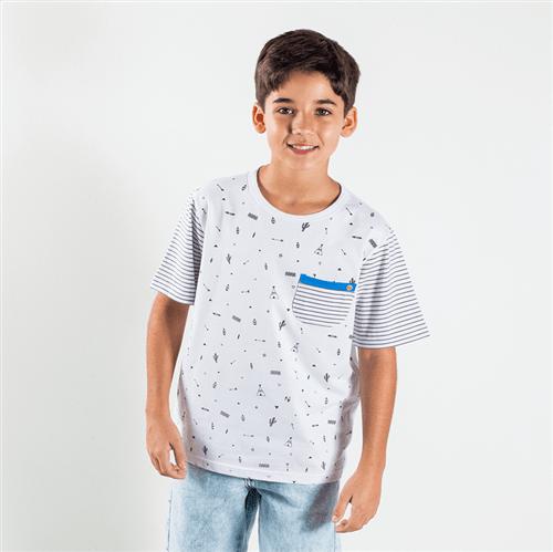 Camiseta Avulso Branco/16
