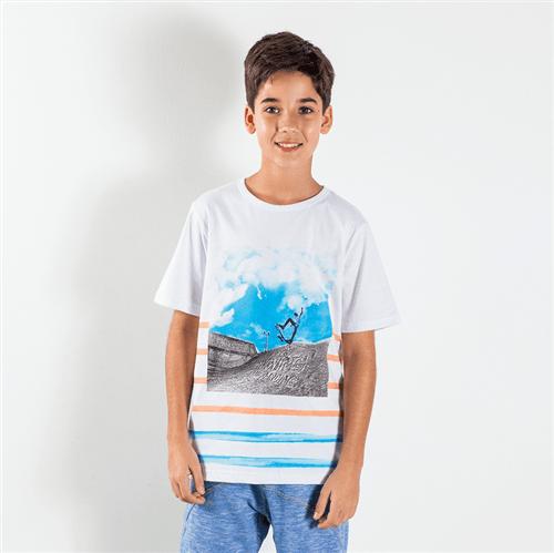 Camiseta Avulso Branco/08