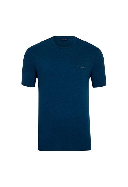 Camiseta Azul Petroleo Mesclada M