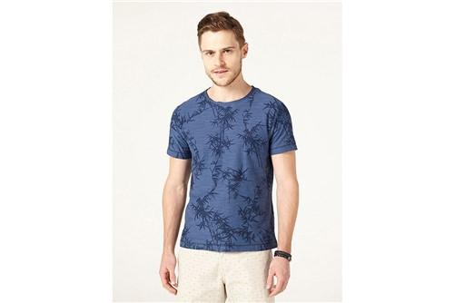 Camiseta Bambu - Azul - M