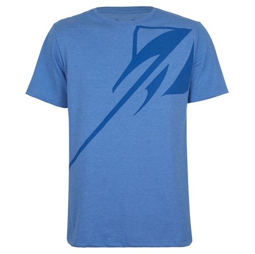 Camiseta Basic Stingray Masculino Corvette Gm Azul Mescla P 11066