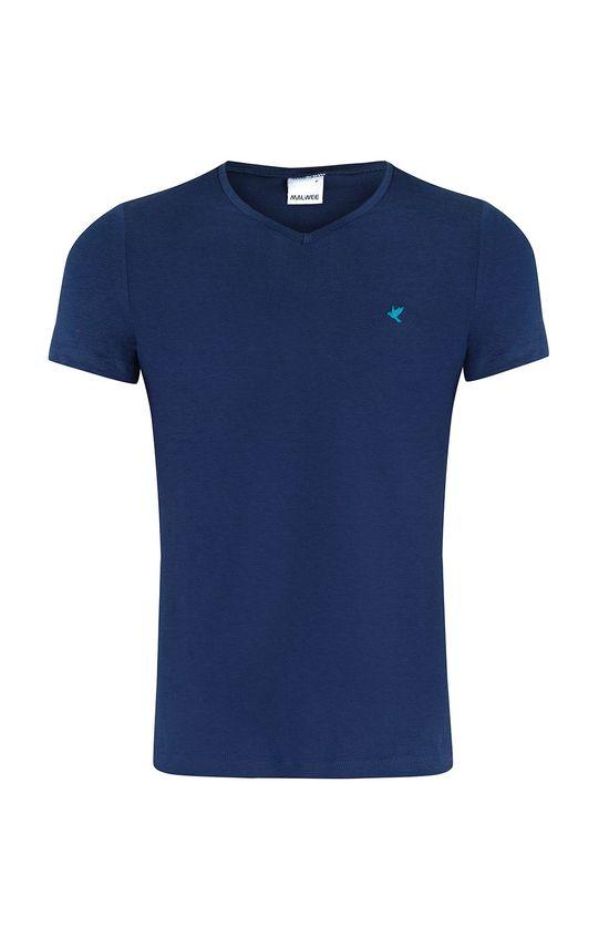 Camiseta Básica Adulto Malwee Azul - G