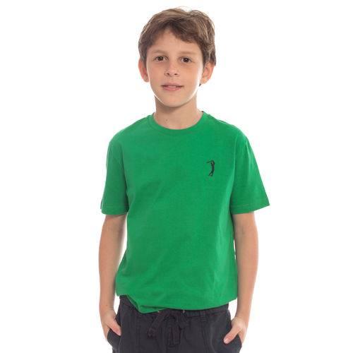 Camiseta Básica Aleatory Kids Lisa Verde