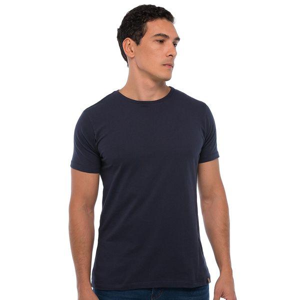 Camiseta Básica - Azul Marinho