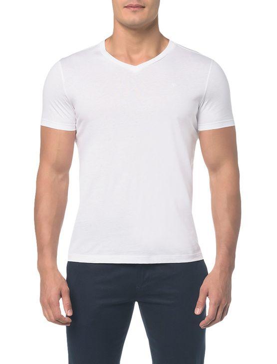 Camiseta Basica Liquid Bordado Ck - P