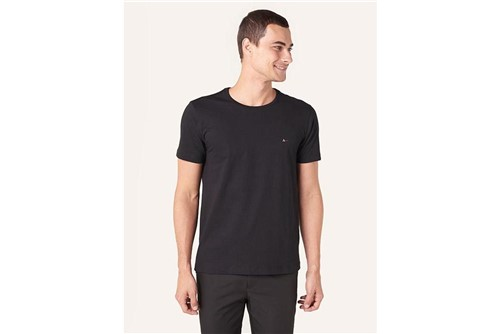 Camiseta Básica - Preto - G