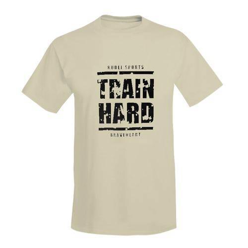 Camiseta Básica Train Hard Rudel