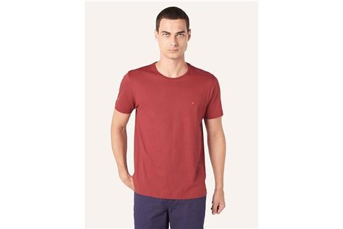 Camiseta Básica - Vinho - G