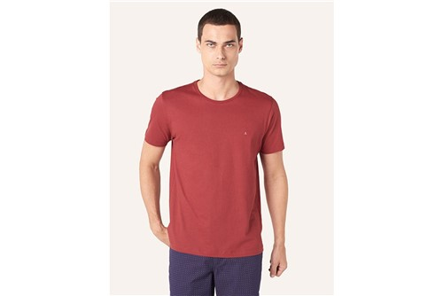 Camiseta Básica - Vinho - P