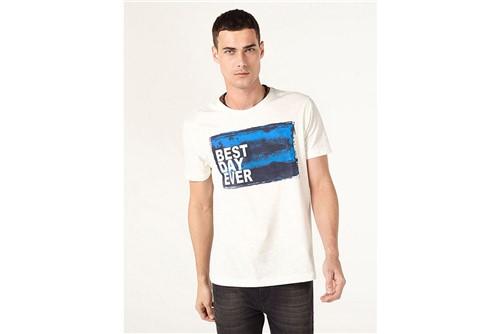 Camiseta Best Day Ever - Off White - P