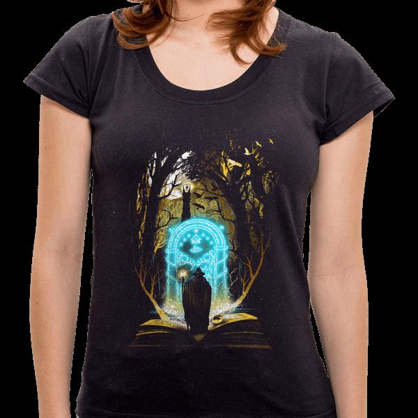 Camiseta Book Of Middle-Earth - Feminina - P