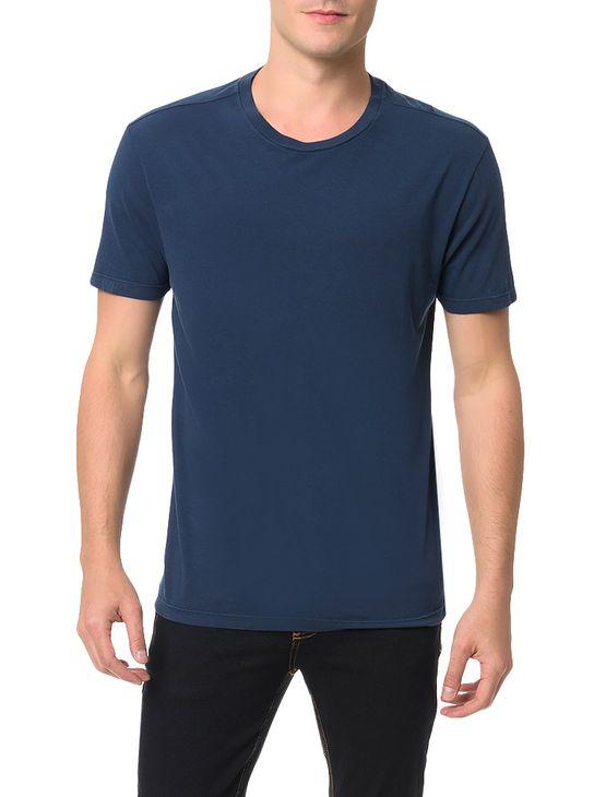 Camiseta Calvin Klein Jeans Estampa Basquete Marinho - PP