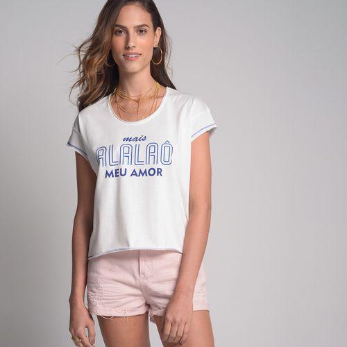 Camiseta Carnaval Alalaô Off White - P