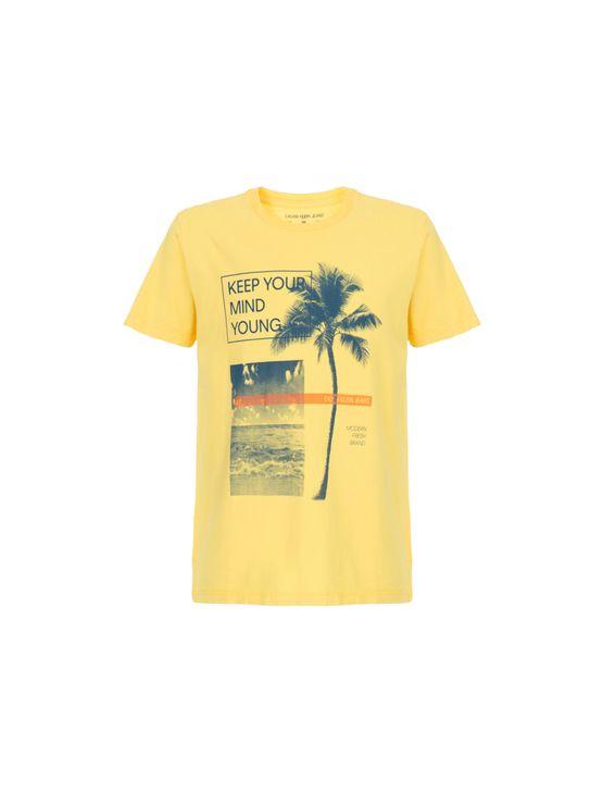 Camiseta CK Jr MC Est Coqueiro Faixa Camiseta CK Jr MC Est Coqueuro Faixa - 8
