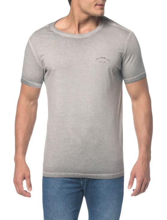Camiseta Ckj Mc Est Bike Costas - Grafite - PP