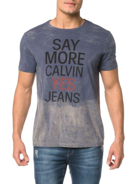 Camiseta CKJ MC Est Calvin Yes Jeans - PP