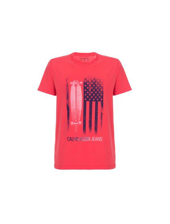 Camiseta CKJ MC Est Flag Skate - 2