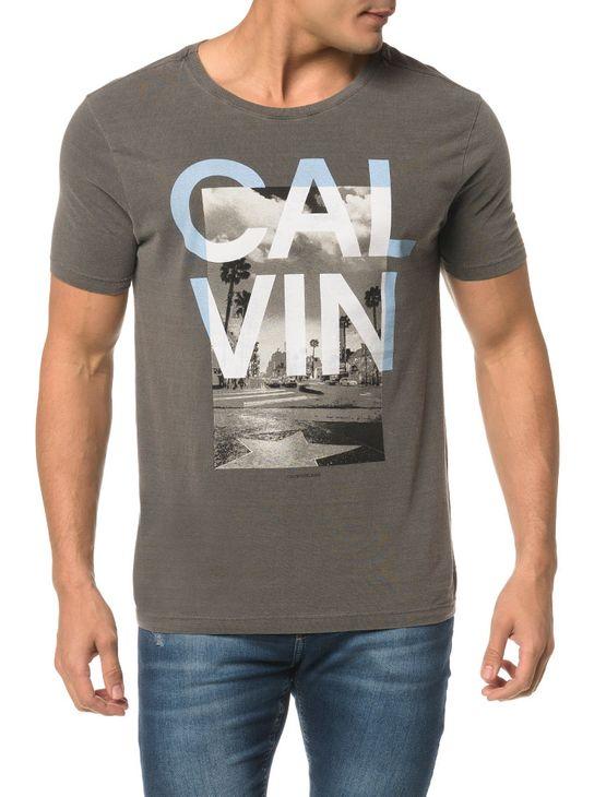 Camiseta CKJ MC Est Hollywood Calvin - PP