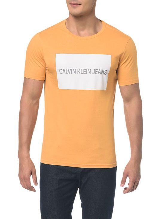 Camiseta Ckj Mc Est Logo Retangulo - P