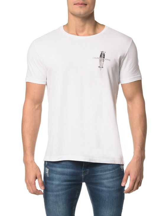Camiseta CKJ MC Est.Skate Frente/Costas - P