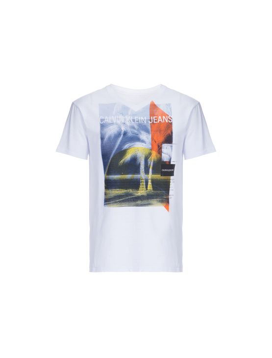 Camiseta CKJ MC Estampa Beach - 4