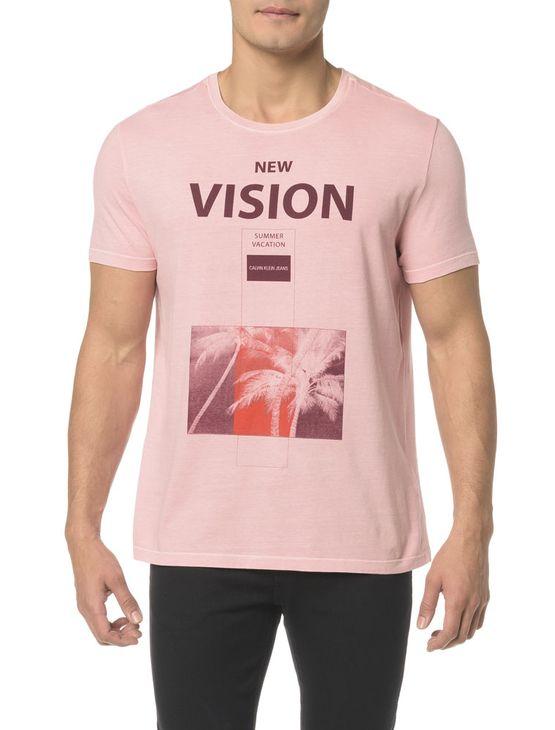 Camiseta CKJ MC Estampa New Vision - PP