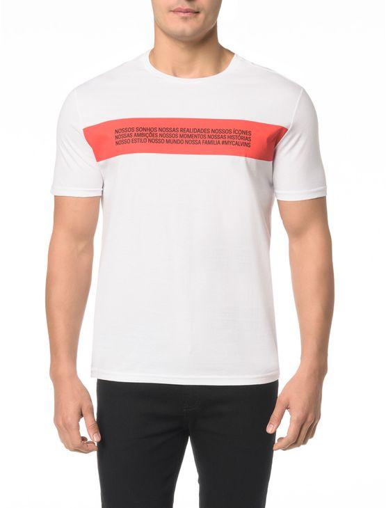 Camiseta Ckj Mc Estampa Reveillon - M