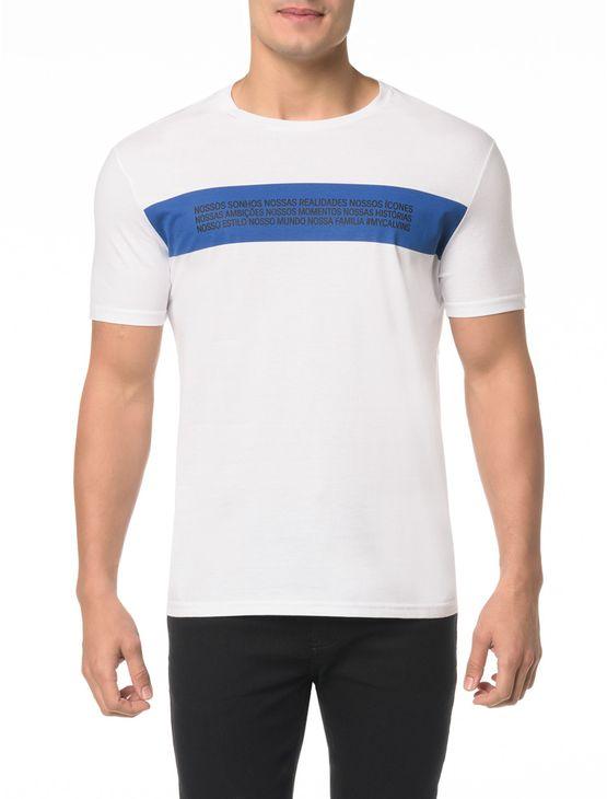 Camiseta Ckj Mc Estampa Reveillon - G
