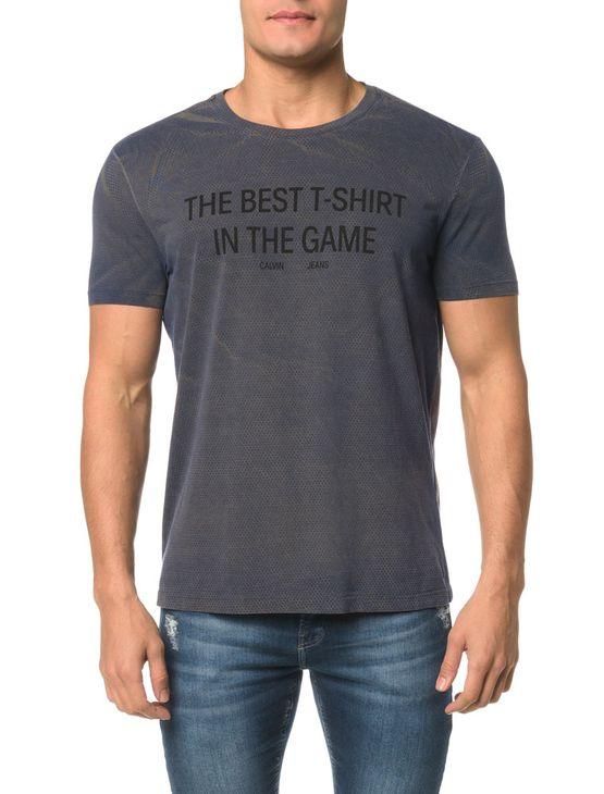 Camiseta CKJ MC Estampa The Best T-Shirt - PP