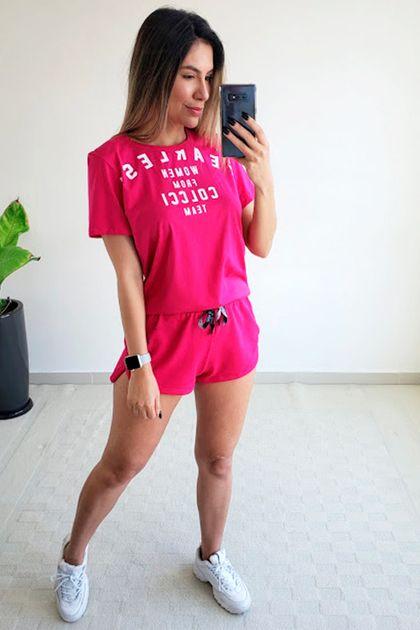 Camiseta Colcci Fitness Estampada