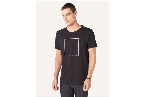 Camiseta Color Points - Preto - M