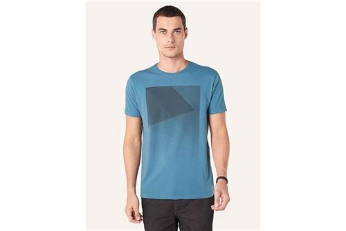 Camiseta Concret - Azul - P