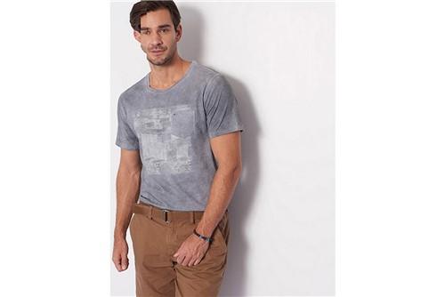 Camiseta Container Bolso - Cinza - GG