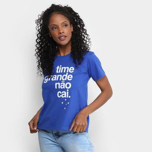 Camiseta Cruzeiro Time Grande não Cai Feminina
