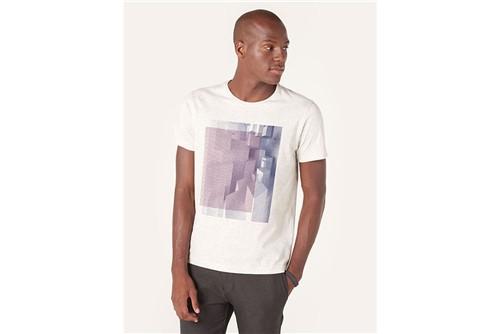 Camiseta 3d Lines - Off White - P