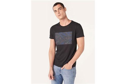 Camiseta Dark Floral - Preto - G