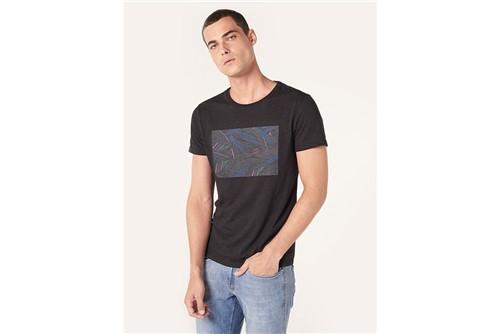 Camiseta Dark Floral - Preto - P