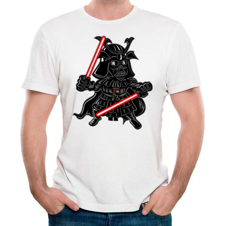 Camiseta Darkside Samurai P - BRANCO