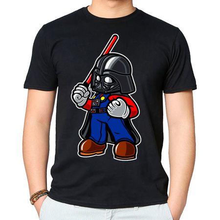 Camiseta Darth Plumber P - PRETO
