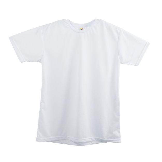 Camiseta de Algodão Branco P