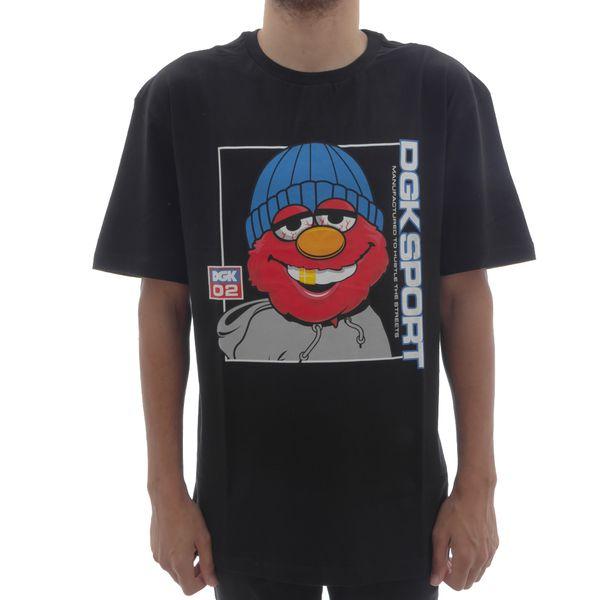 Camiseta DGK The Plug Black (P)