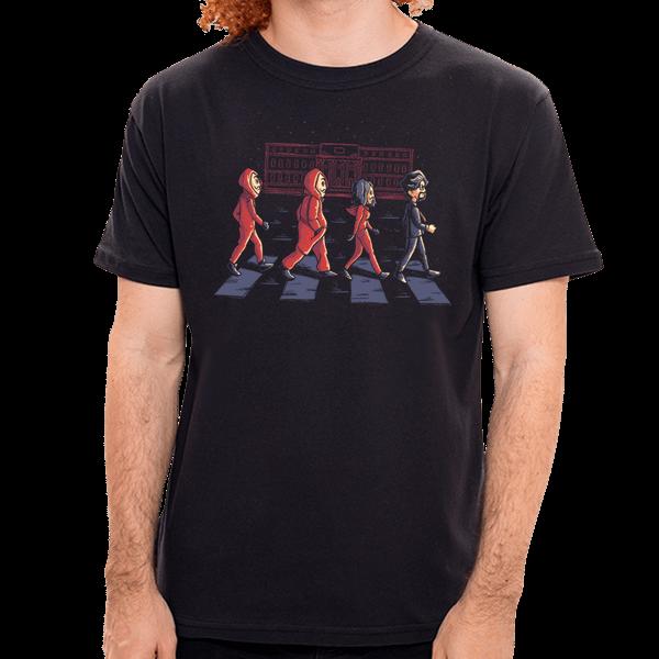 Camiseta El Caminar de Papel - Masculino - P
