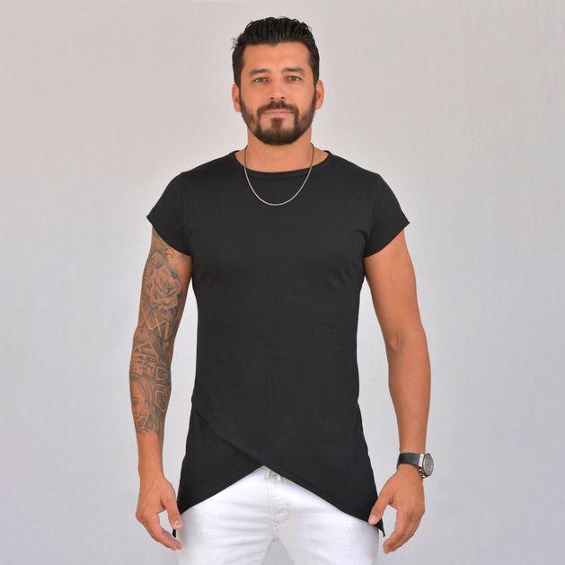 Camiseta Exclusive Bico Duplo Preto