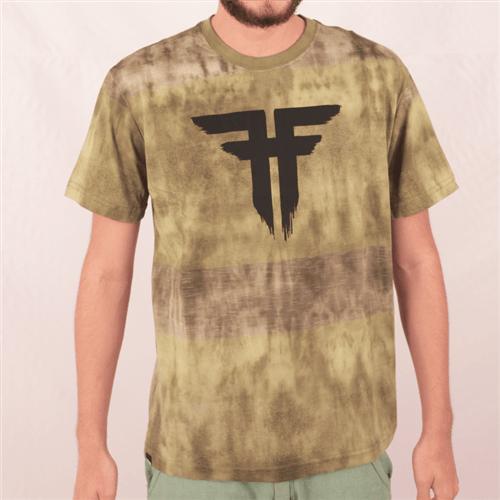 Camiseta Fallen Paint Verde G