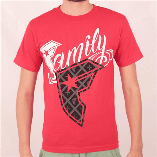 Camiseta Famous Saints Vermelho P
